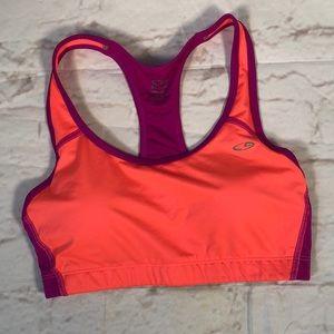 Champion sports bra.  Size Large. Padded